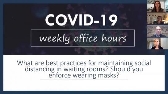 COVID-19 Weekly Office Hours: Week 1