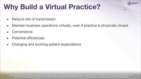 Lessons Learned in the Field: Building Your Telehealth Virtual Ortho Pain Practice
