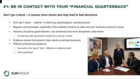 Financial Steps to Overcome a COVID-19 Business Downturn