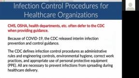 Are You Prepared? Precautions for Healthcare Organizations: Coronavirus Disease 2019 (COVID-19)