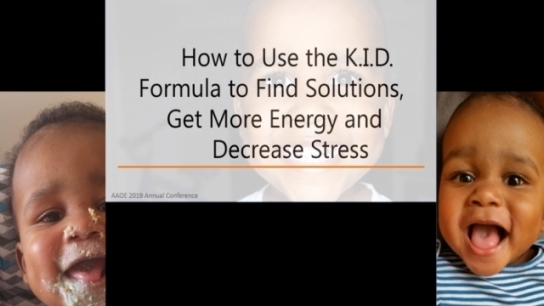 How to Use the K.I.D. Formula for More Success