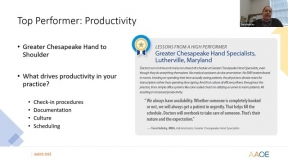 Micro Learning Clip from our Secrets of Top Performing Practices Webinar!