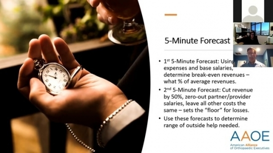 Budgeting During a Crisis: The 5-Minute Forecast