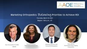 Marketing Orthopedics Webinar