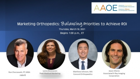 Marketing Orthopedics Webinar