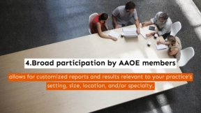 5 Reasons to Complete the AAOE Benchmarking Survey